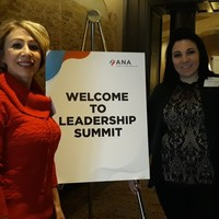 NDNA President and Executive Director on their way in to the summit