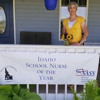 Idaho School Nurse of the Year 2020, Alicia Jordan, Kuna