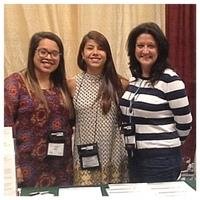 UAB School of Nursing Students Aracely Alvarez, Ana Gabriel Gonzalez Rios and Faculty Grace Grau at NAHN Annual Conference 2016.