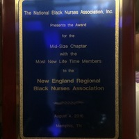 NERBNA wins the NBNA Most New Lifetime Members Award!