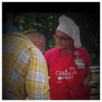 Birmingham Fiesta 2014 Grau joins forces with American Heart Association to  Educate about Heart Disease & Heart Healthy cooking.