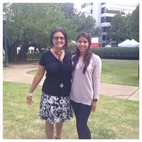 Ana Gonzalez Rios, UAB Student Nurse and Dr. Grace Grau