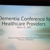 March 31, 2017 Dementia Conference for Healthcare Providers
