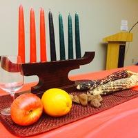 The Kwanzaa Table