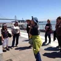 Along the waterfront with Catherine Powell of the SFSU :Labor Archives