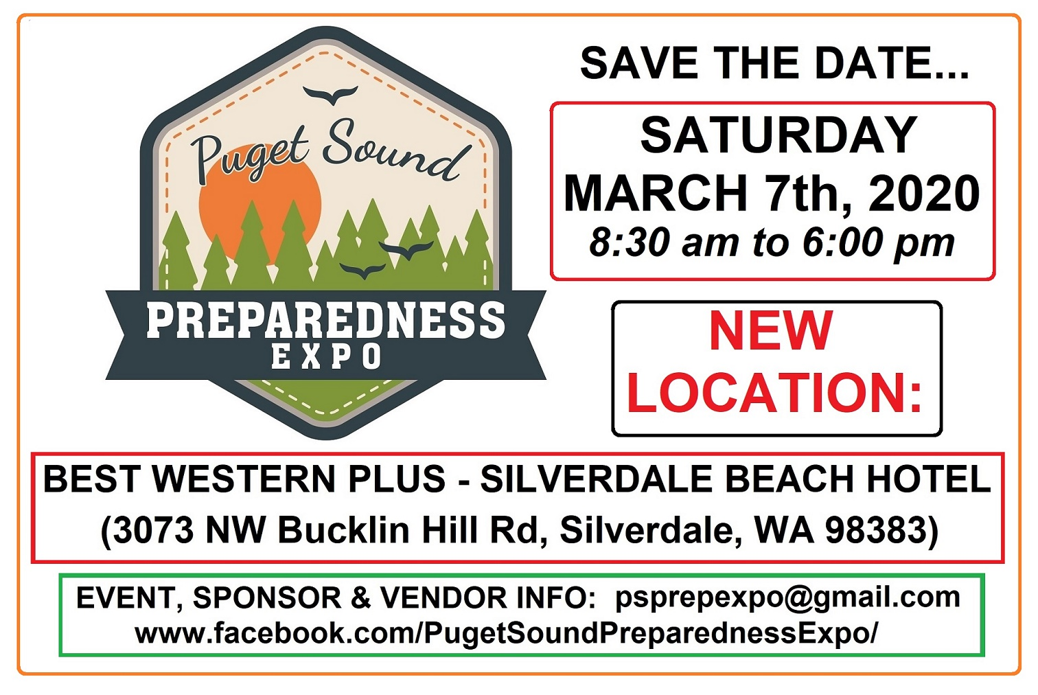 Puget Sound Preparedness Expo 2020