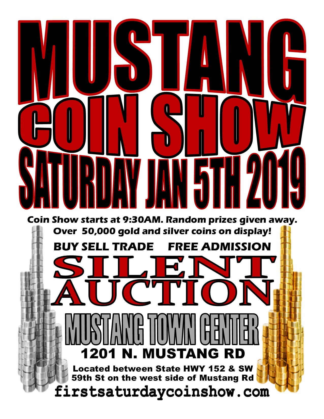MUSTANG COIN SHOW