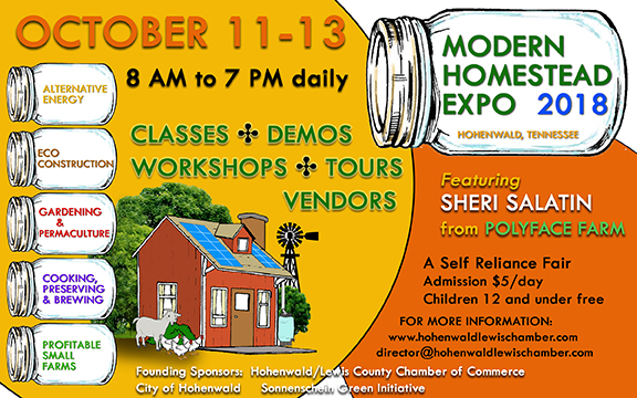 "Modern Homestead Expo – ""A Self-Reliance Fair"""