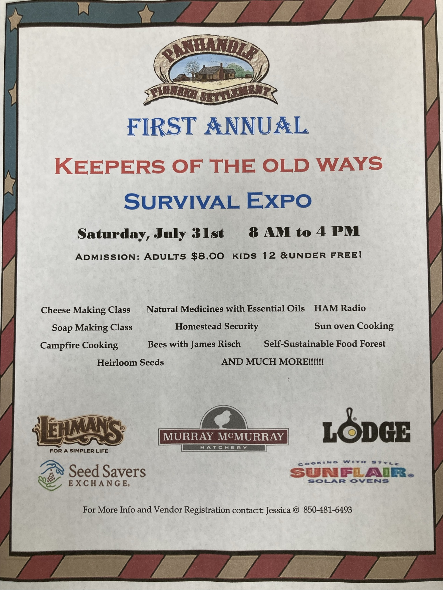 Keepers of the Old Ways Survival Expo