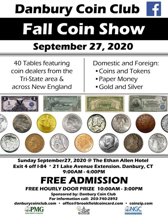Danbury Coin Show