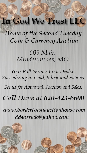 Second Tuesday Coin & Currency Auction