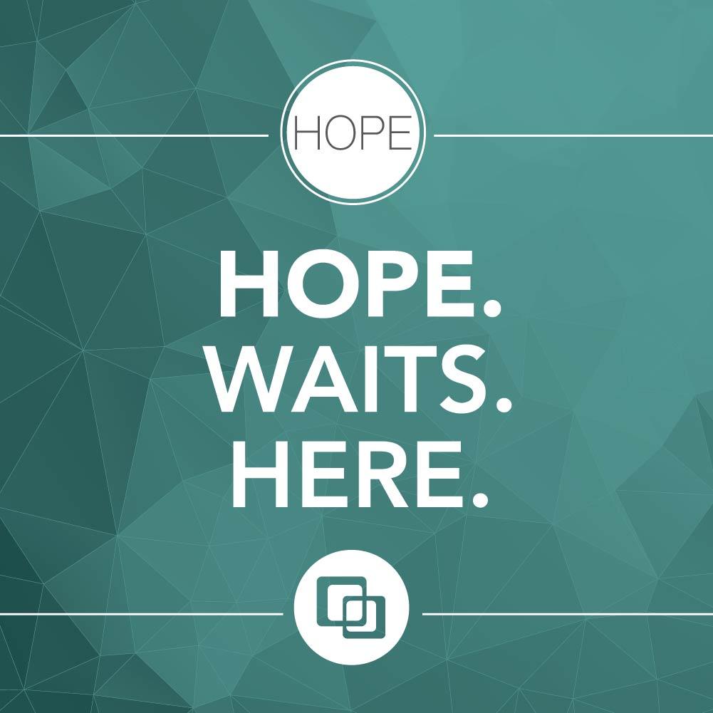Hope. Waits. Here.