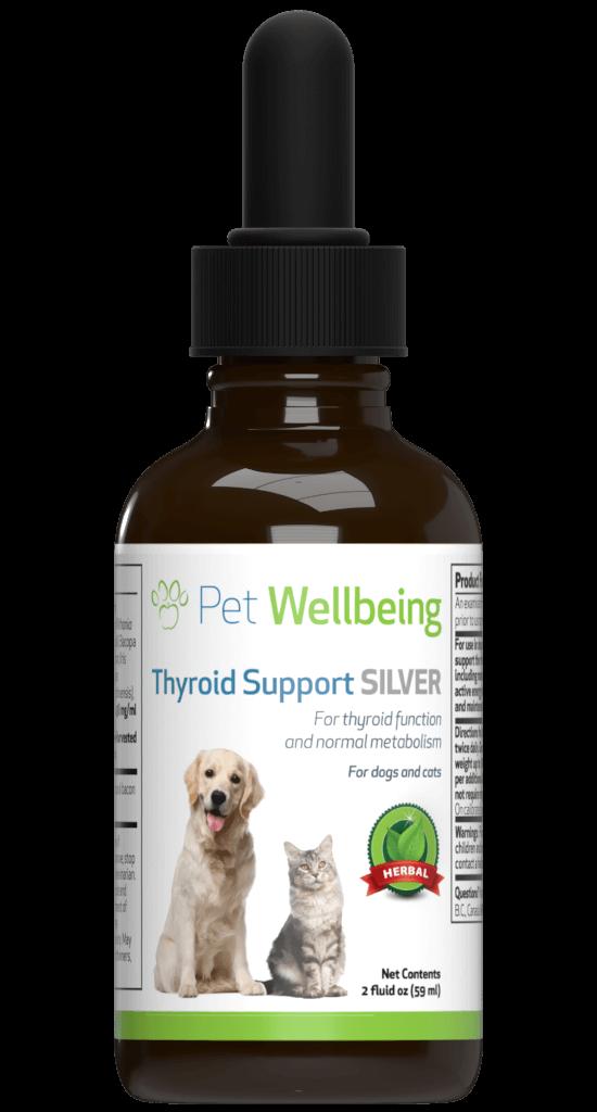 Thyroid Support Silver For Dog Hypothyroidism Petwellbeing Com