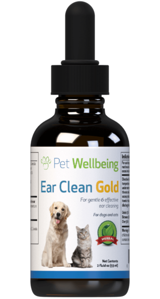 Ear Clean Gold for Cats by Pet Wellbeing