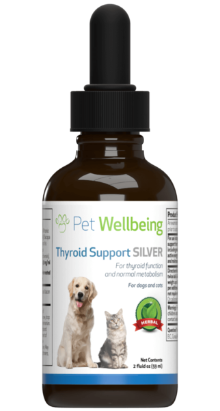 Thyroid Support Silver for Cat Hypothyroidism