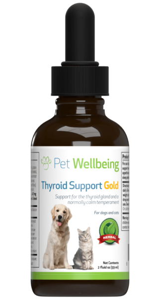 Thyroid Support Gold - Dog Hyperthyroidism Support