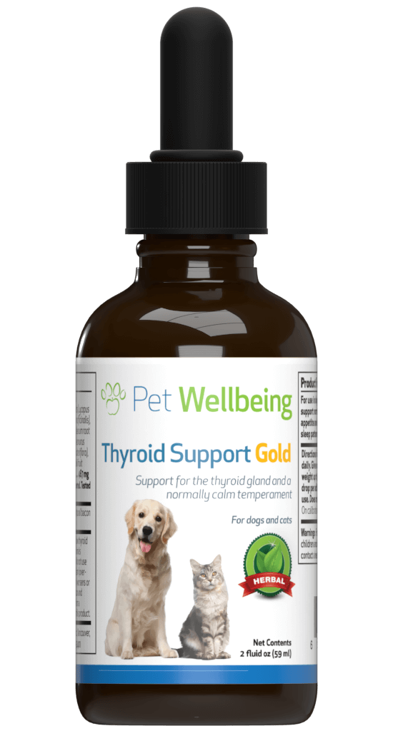 Thyroid Support Gold Cat Hyperthyroidism Support Petwellbeing Com