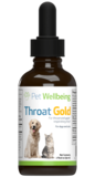 Throat Gold - Cough & Throat Soother for dogs