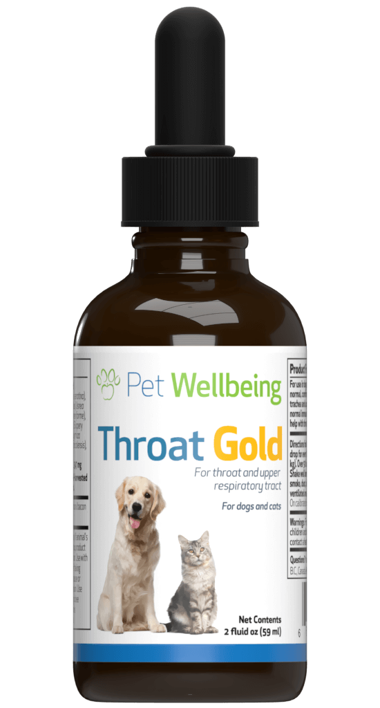 Throat Gold - Throat Soother for cats