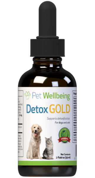 Detox Gold for Dogs - Life Gold by Pet Wellbeing