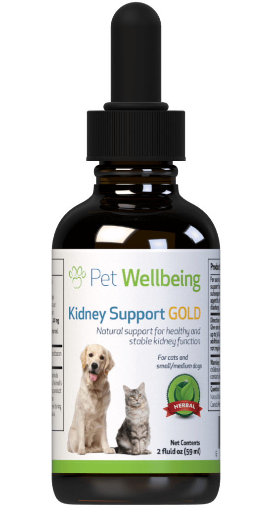 Kidney Support Gold - Dog Kidney Disease Support