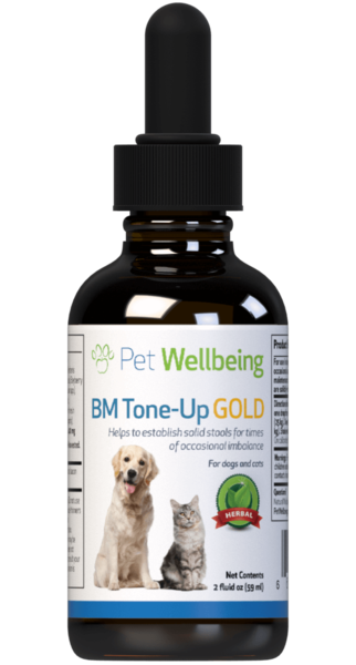 BM Tone-Up Gold - Cat Diarrhea Support by Pet Wellbeing