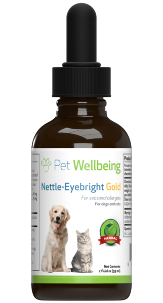 Nettle-Eyebright Gold for Dogs with Allergies by Pet Wellbeing