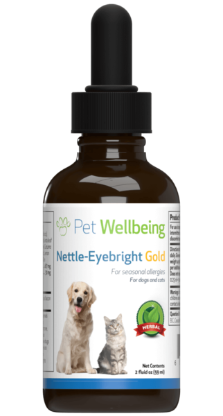 Nettle-Eyebright Gold for Cats with Allergies by Pet Wellbeing