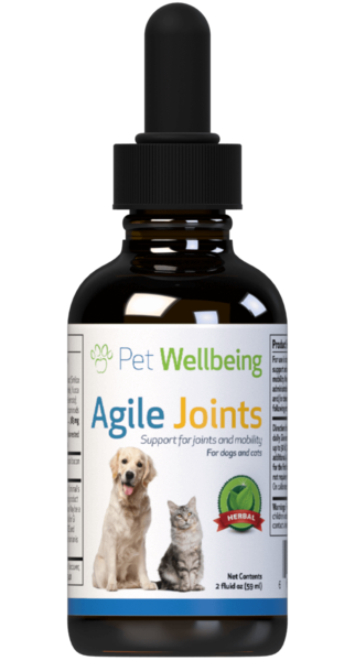 Agile Joints – Cat Arthritis and Joint Support by Pet Wellbeing