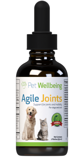 Agile Joints - Dog Arthritis and Joint Support by Pet Wellbeing