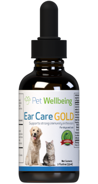 Ear Care Gold for Cat Ear Infections