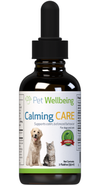Calming Care for Dog Anxiety and Stress by Pet Wellbeing