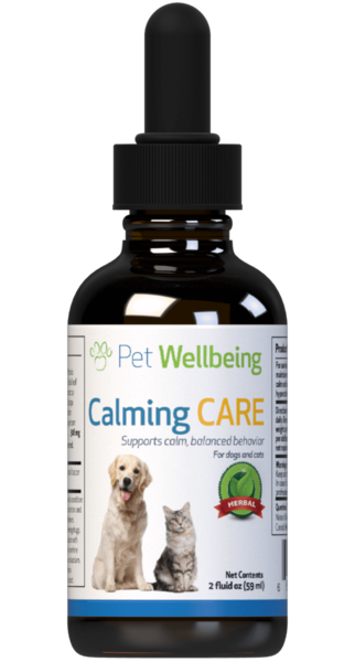 Calming Care for Cat Anxiety and Stress by Pet Wellbeing