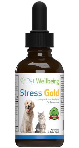 Stress Gold for High Stress Situations in Cats by Pet Wellbeing