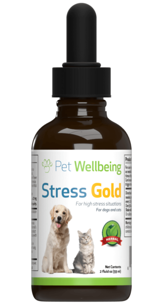 Stress Gold for High Stress Situations in Dogs by Pet Wellbeing