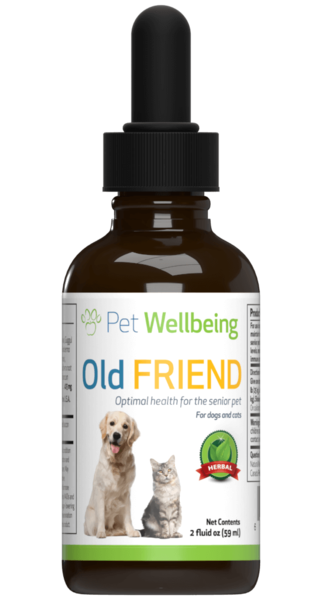 Old Friend for Senior Dogs by Pet Wellbeing