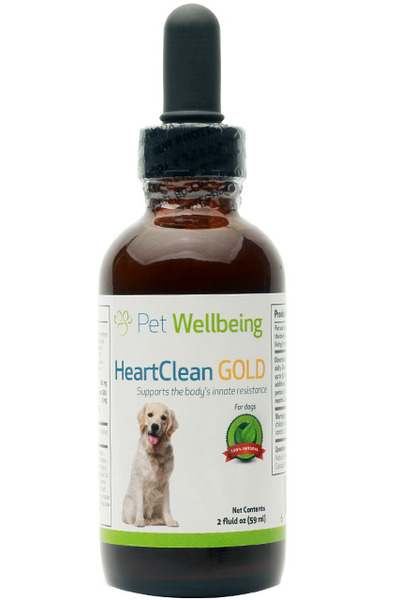 Heart Clean Gold