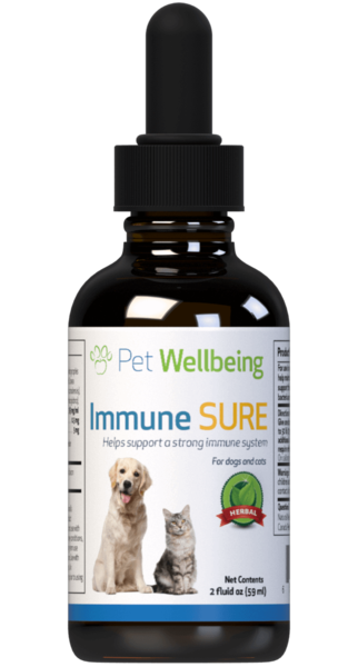 Immune SURE for Feline Immune System Support by Pet Wellbeing