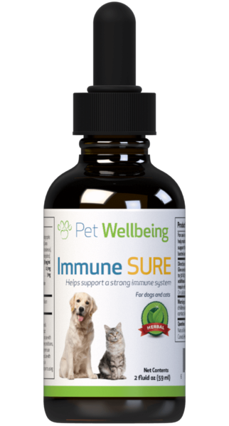 Immune SURE for Canine Immune System Support by Pet Wellbeing