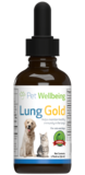 Lung Gold for cat lung infections and easy breathing