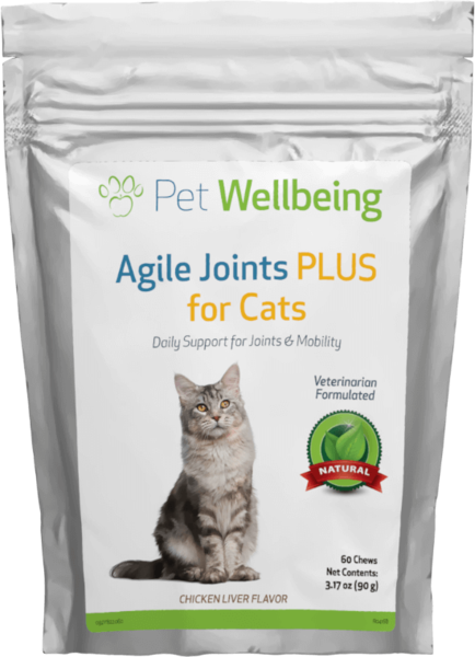 Agile Joints PLUS for Cats by Pet Wellbeing