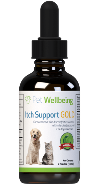 Itch Support Gold for Dogs by Pet Wellbeing
