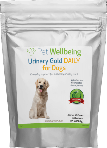Urinary Gold DAILY for Dogs by Pet Wellbeing