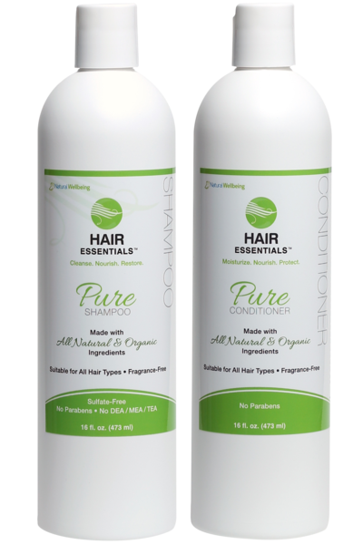 PURE Shampoo & Conditioner COMBO - Fragrance Free