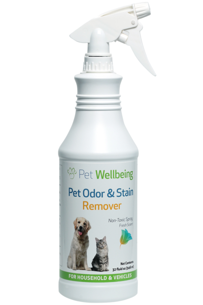Pet Odor & Stain Remover By Pet Wellbeing