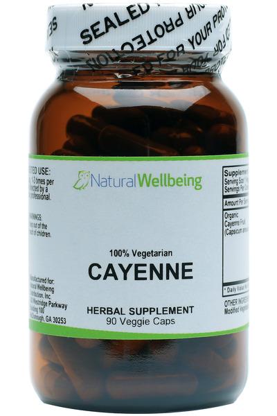 Cayenne Caps - Organic