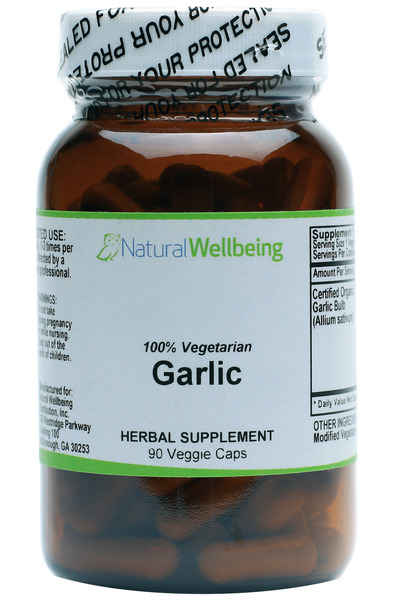 Garlic Caps - Organic