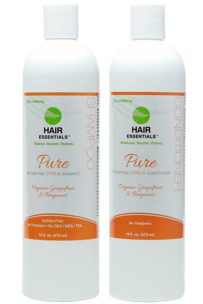 PURE Shampoo & Conditioner COMBO - Citrus