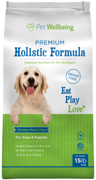 Premium Holistic Formula for Dogs & Puppies by Pet Wellbeing