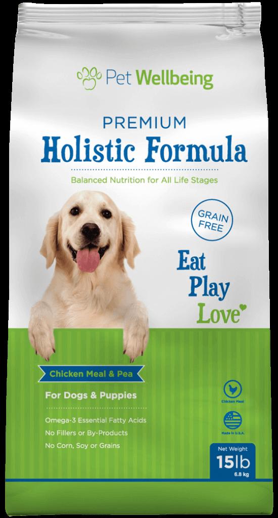 Premium Holistic Formula for Dogs & Puppies